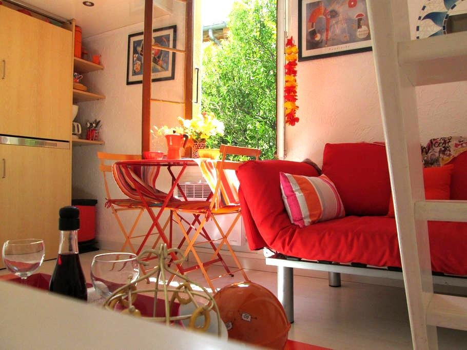 Romantic studio free wifi in center - Collioure - Appartamento