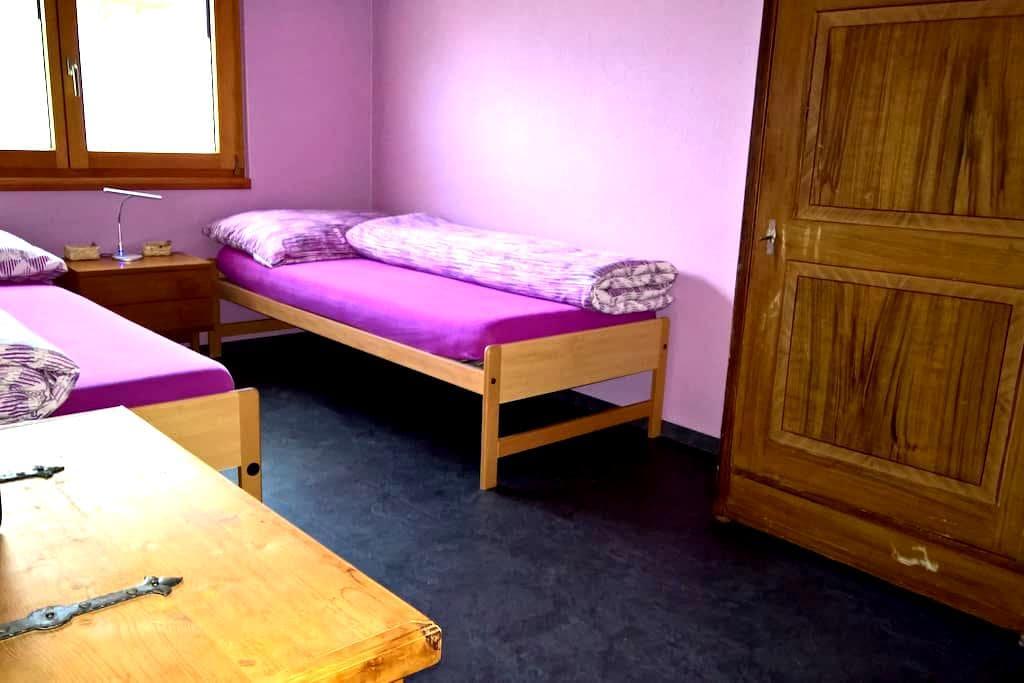 Zimmer in Turtmann - Turtmann - Appartement