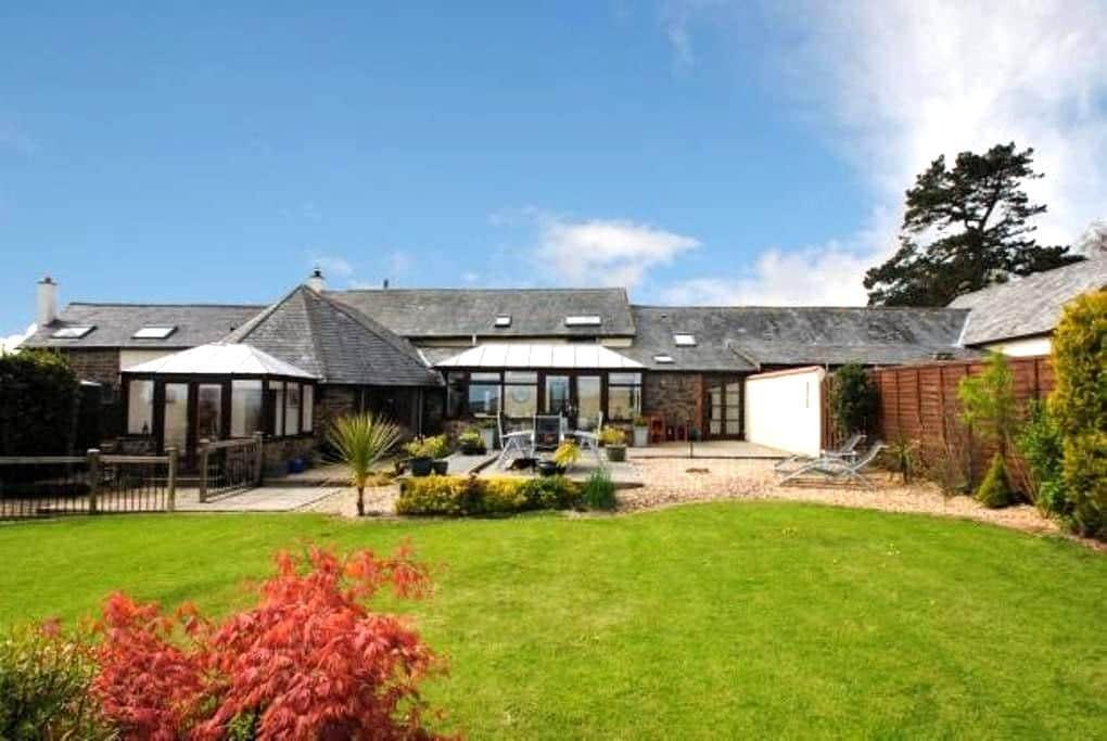 Private apartment in North Devon barn conversion - Barnstaple - Appartement