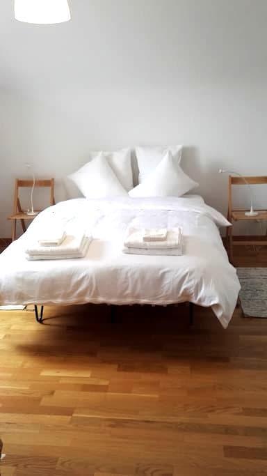 Stadt Aarau 5 Gehm. HB Zimmer1 in Gästewohnung - Aarau - Appartement