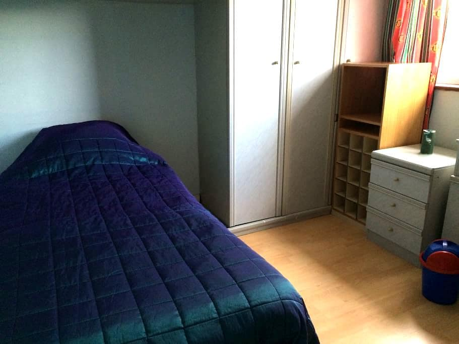 Single bedroom with fitted wardrobe - Harrow - 獨棟