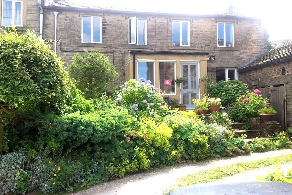 17thC cottage & Tub - Holmfirth - Huis