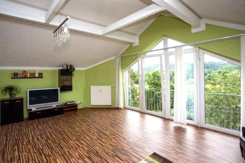 Wellness Appartement Mainblick - Michelau in Oberfranken - Appartement