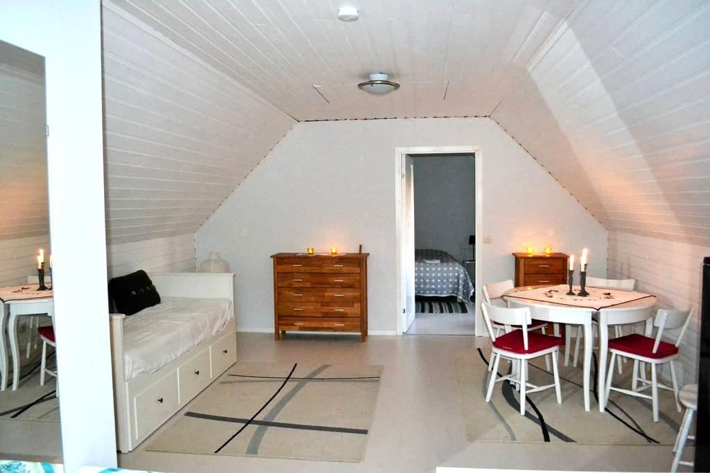 Cozy apartment in quiet neigborhood - Karlshamn - Daire