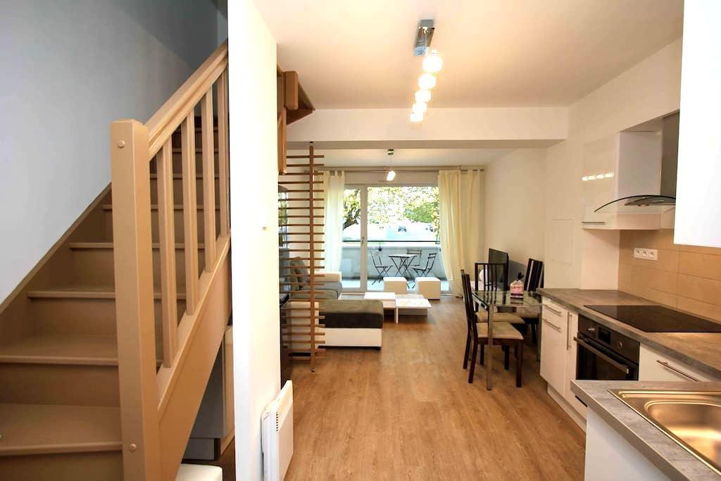 Duplex 53m2 proche Centre ville refait à neuf - Reims - Lägenhet
