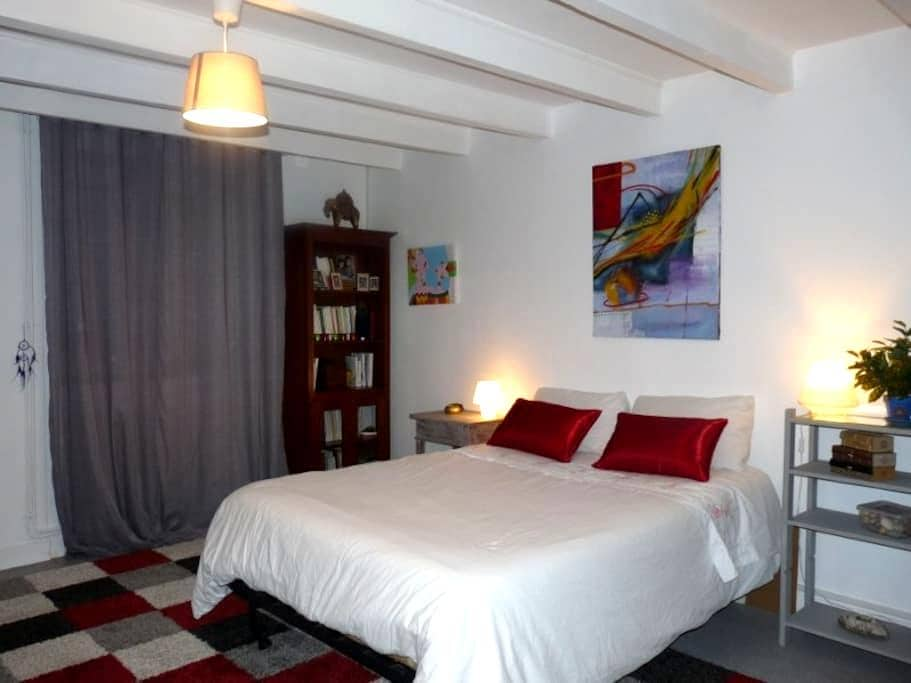 Jolie chambre dans maison de village - Saint-Brice - Bed & Breakfast
