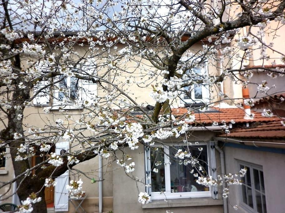 Maison de ville dans la verdure - Andrézieux-Bouthéon - Oda + Kahvaltı