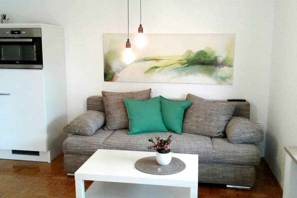 2-Zimmer Wohnung mit Wohnküche, eigener Eingang EG - Ergolding - Ek ev