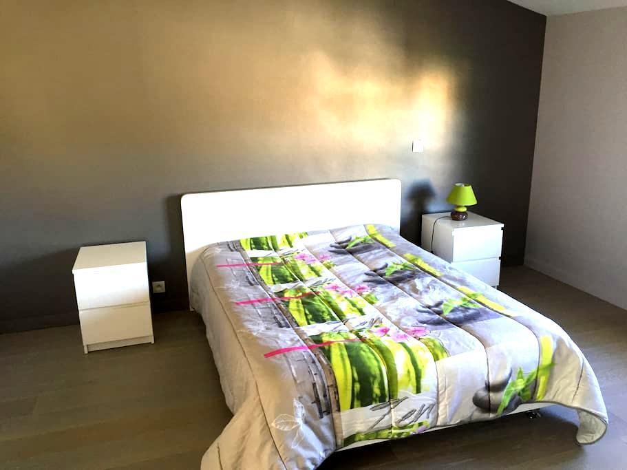 Grande chambre privée avec salle de bains et WC - Labarthe-sur-Lèze - 獨棟