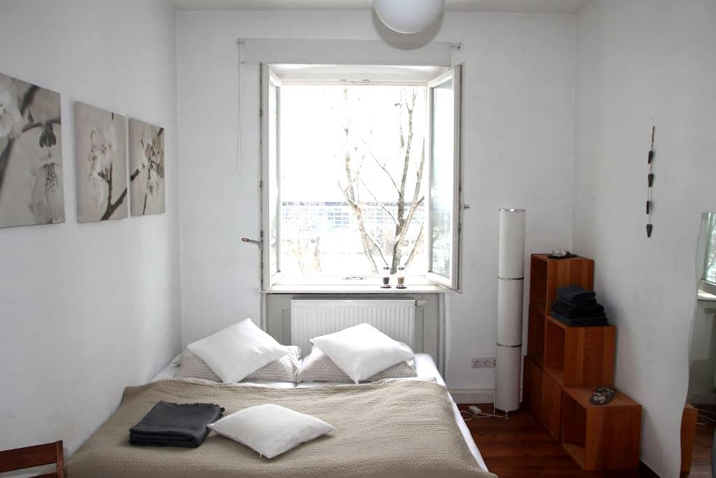 Lovely room (Art Nouveau) with riverview (central) - Bamberg - Kondominium