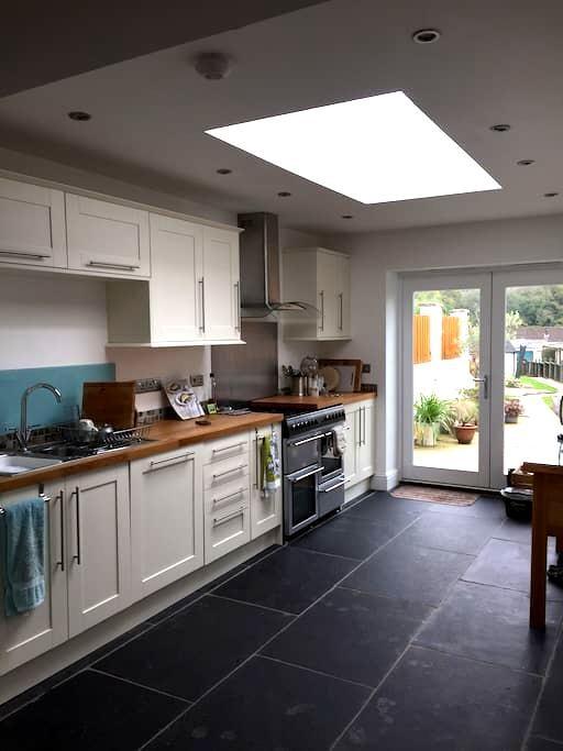 Period three storey stone house - Wells - Casa