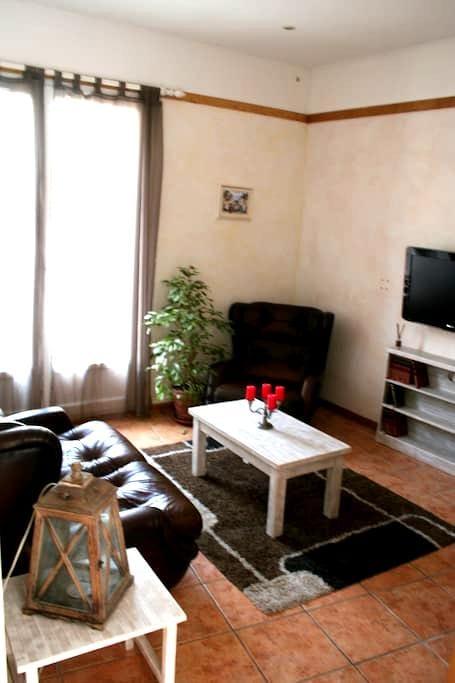 appartement romantique - Cessenon-sur-Orb - Apartamento