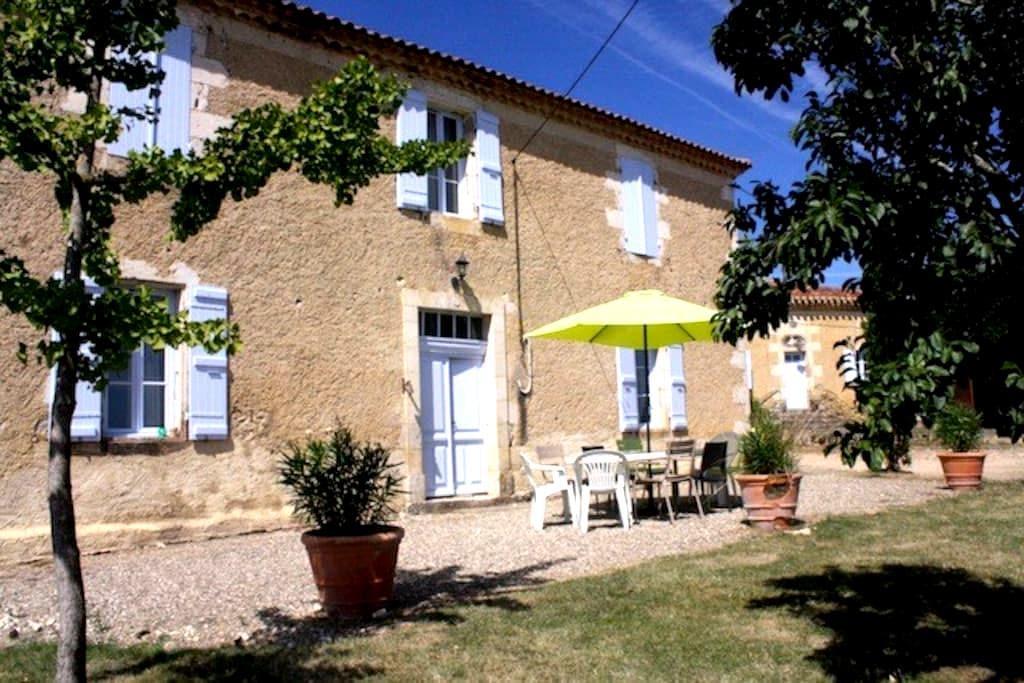 Gîte rural dans le Gers - Préchac - Huis