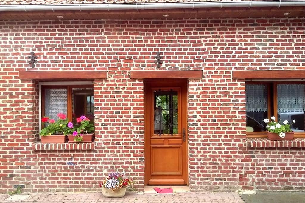 petite maison tout confort, à la campagne - Lestrem - Rumah