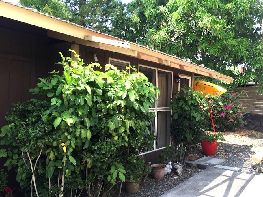 Private detached studio in Kailua Kona - Mauka - Kailua-Kona - Casa de huéspedes