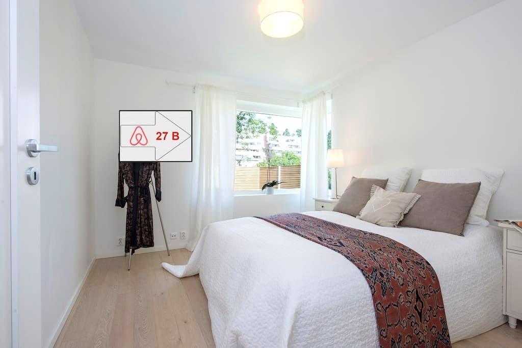 """Double BR in """"Villa 27B"""" 10 min from Oslo sleeps 2 - Bærum - Vila"""