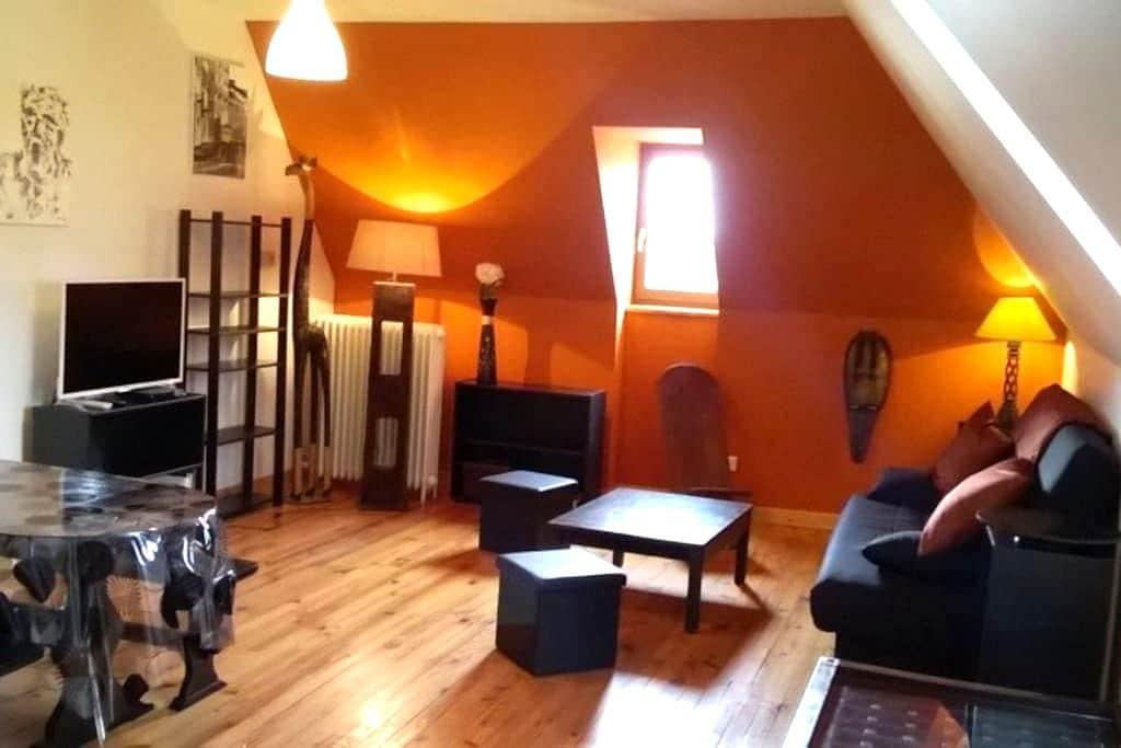 Joli appartement dans grand gîte - Tauves - Apartment