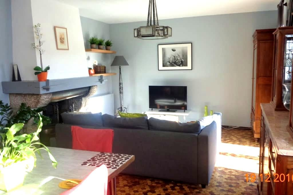 Appartement de charme dans les Pyrénées Ariégeoise - Arignac - Wohnung
