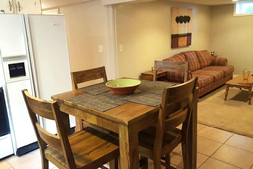 Very Cozy, Private, Clean Apt! - Cottonwood Heights - Departamento