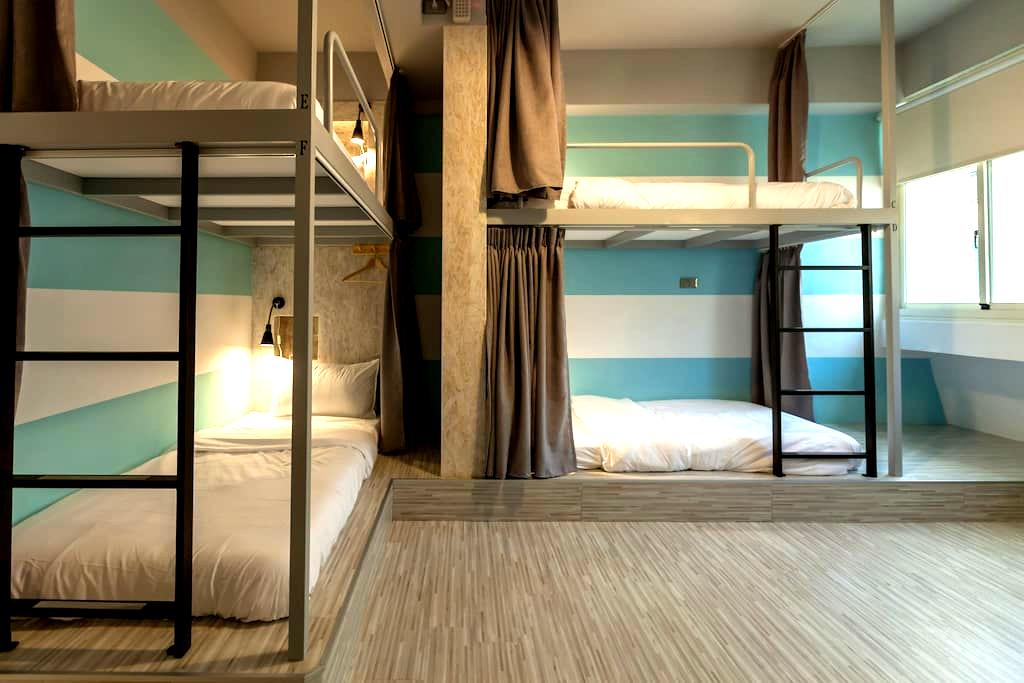 花蓮北吉光6人混合房的1床/1 bed@Mixed Dorm-1C - Hualien City - Apartment