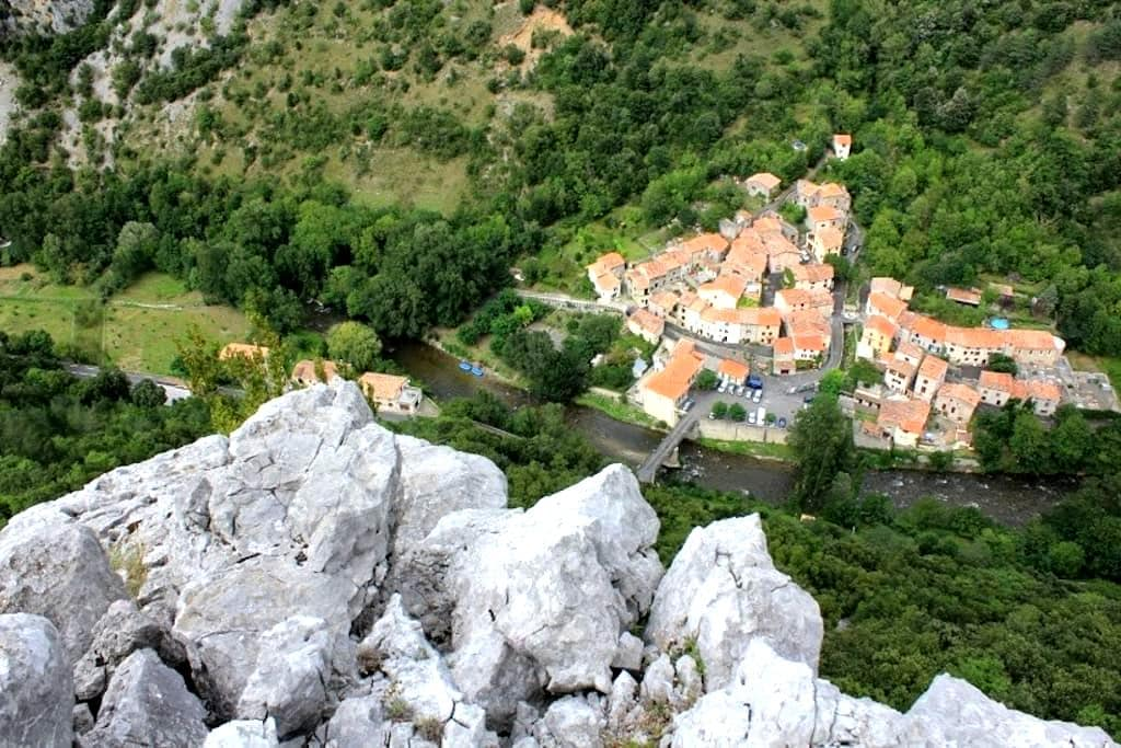 Charming village, stunning views - Saint-Martin-Lys - Casa