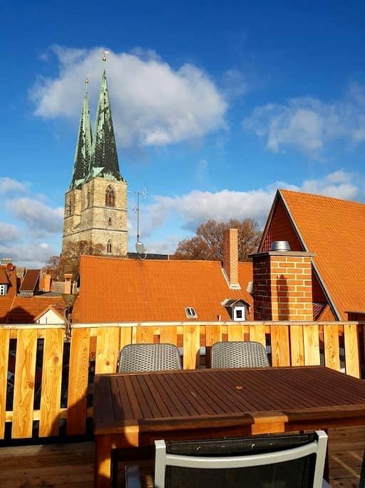 Apartment anno 1720- Quedlinburg - Quedlinburg - Selveierleilighet