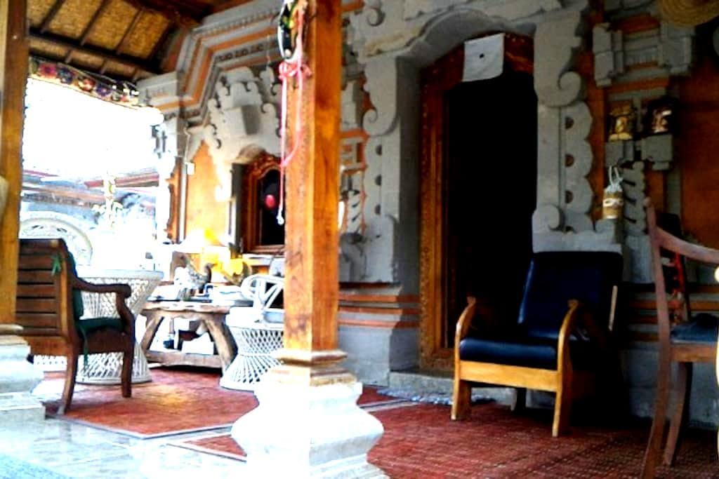 A sweet Bali house in a small fishermen hamlet - Manggis - Hus