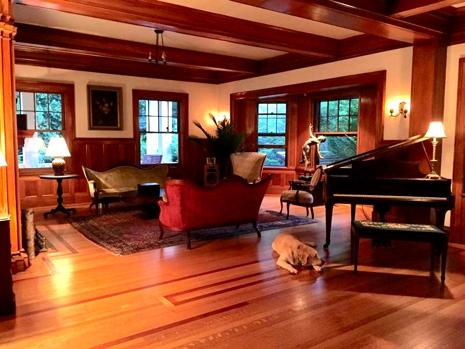 Edmister House,  Historic Cottage The Arden Room - ピッツフィールド - 別荘