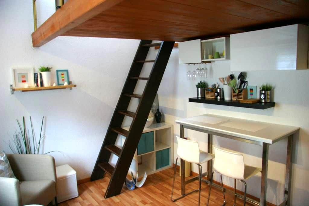 Central nice Studio close to old town Baden&Zurich - Wettingen - Appartement