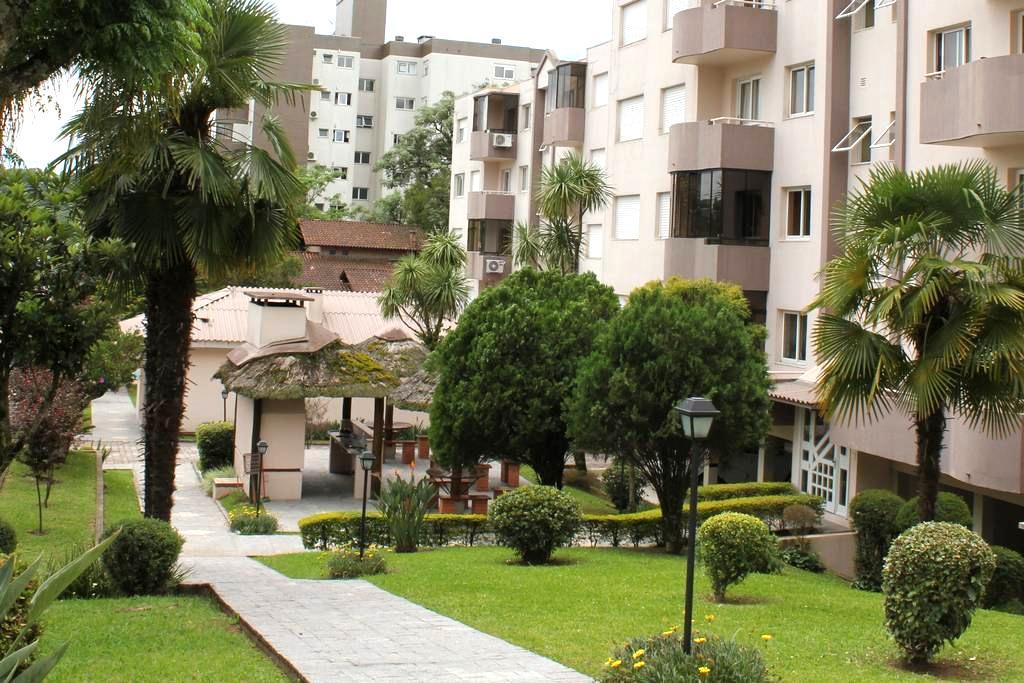 Apartamento com Ar Condicionado em Bento Gonçalves - Bento Gonçalves - Departamento