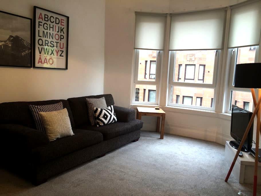 Comfortable, contemporary  flat - Glasgow - Leilighet