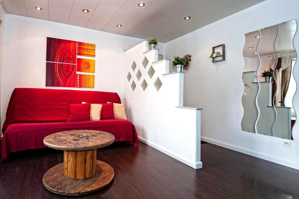 Bel appartement chaleureux/lumineux - Rouffach - Lägenhet