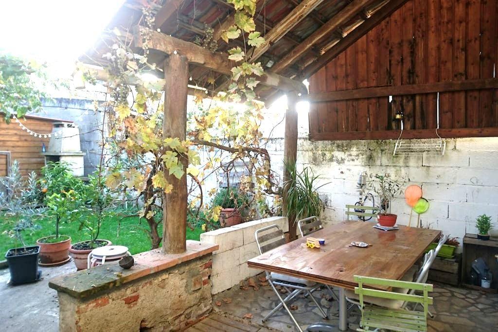 Chambre dans maison de centre ville - Gaillac - Hus