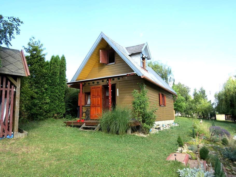 Cozy wooden house in Bakony - Lókút