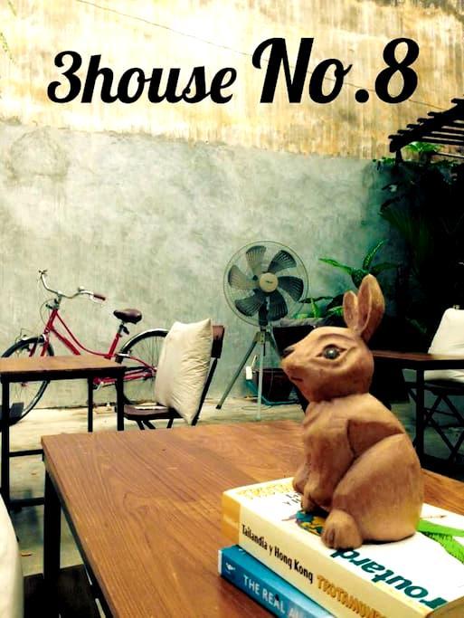 3HOUSE Khaosan Single bedroom No.8 - Bangkok - Haus