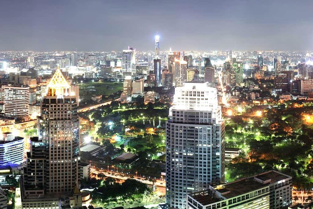 NEW! DOWNTOWN HIGH RISE BY MRT/MALL - Bangkok - Appartement