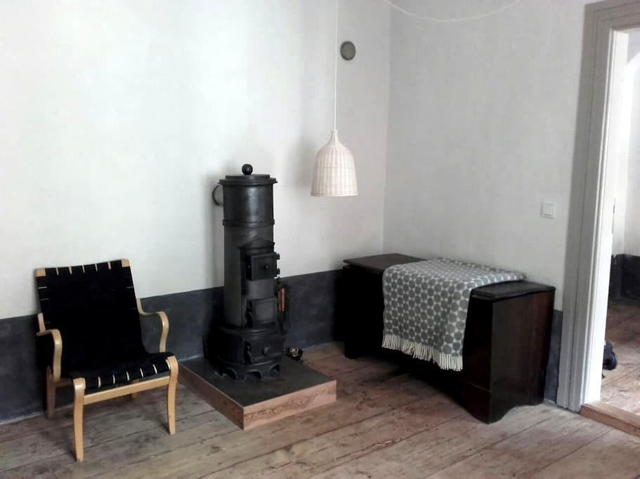 Ferienwohnung mit Ofen in Stralsund - Stralsund - Appartement