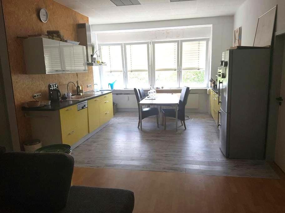 Tolle Dreizimmerwohnung für 4 Pers. - Roßdorf - 公寓