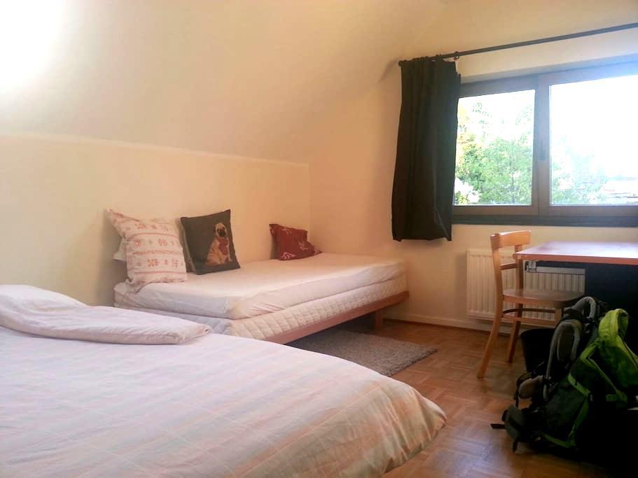 Belle chambre privée au calme - ブリュッセル - 別荘