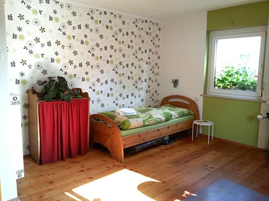 Helles Zimmer m. Bad/Küchen Benutzg - Schweinfurt - Leilighet