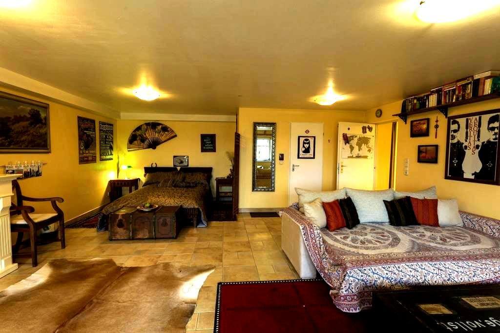 "Charming Apartment ""Fuchsbau"" in Ronneburg - Ronneburg - Leilighet"