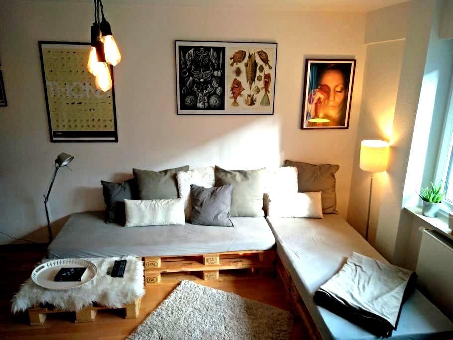 comfartable & cozy room Berger Straße downtown - Frankfurt am Main - Apartemen
