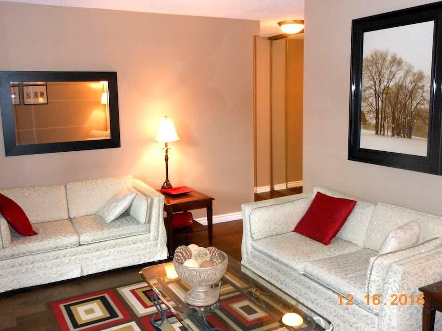 Newly renovated large 1 bedroom condo - Calgary - Osakehuoneisto