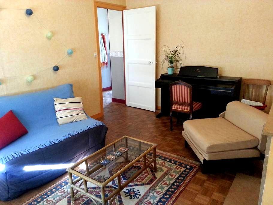 Chambre chez étudiantes sympas proche gare - Angers - Appartement