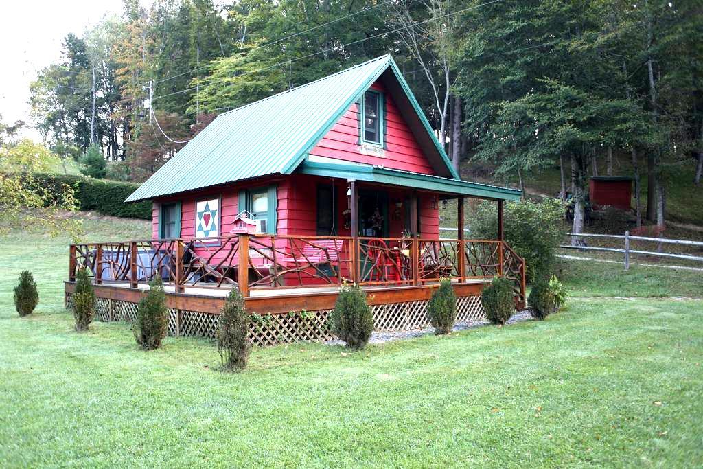 Little River's (Honeymoon Cabin) - Sugar Grove - Cabaña
