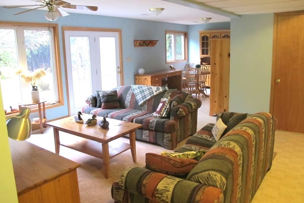 Beautiful Ski Country Apartment - Horning's Mills - Leilighet