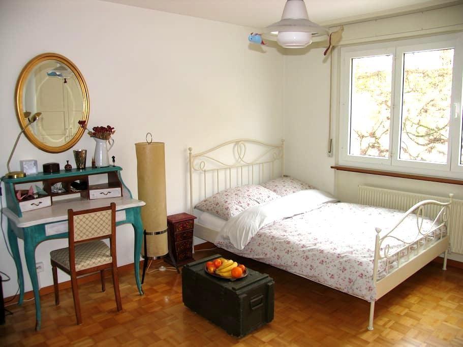Magnifique chambre à Neuchâtel - Neuchâtel - Leilighet