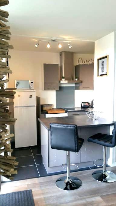 Studio Équipé proche de Genève - 聖瑞利安內恩傑尼瓦斯(Saint-Julien-en-Genevois) - 公寓