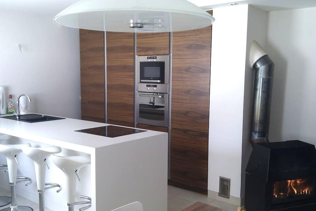 New modern country house at Rakitna - Preserje - Hus