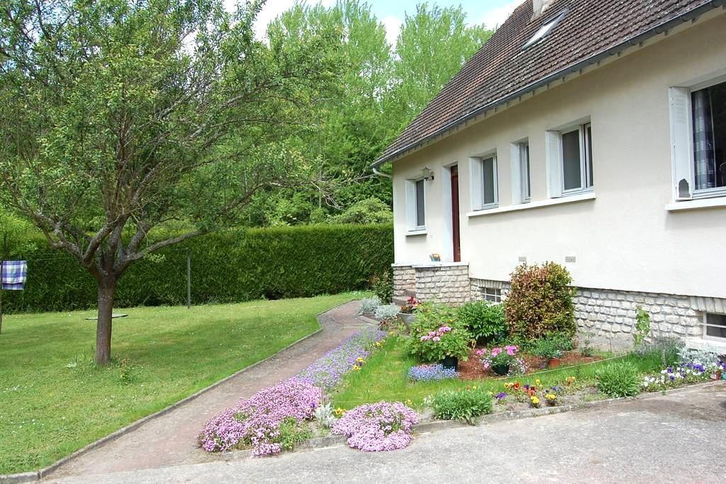 Chambre au calme prox. Forêt Fontainebleau - Buthiers - Casa de huéspedes